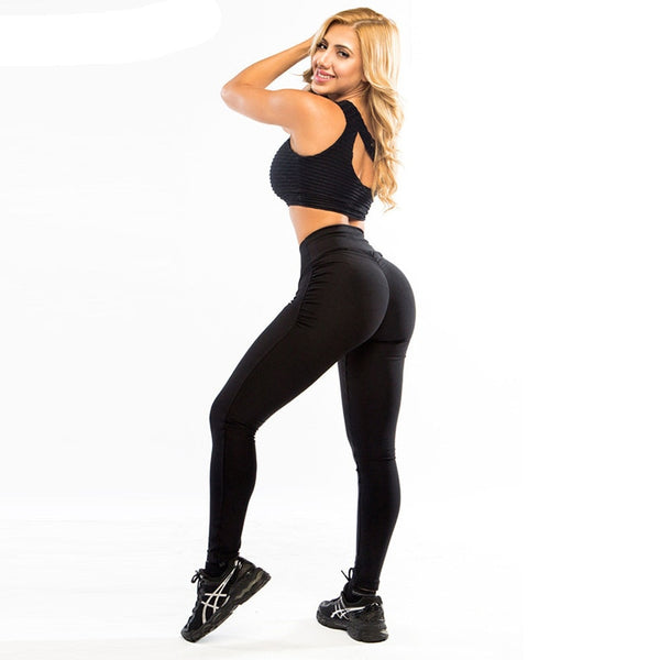 Fitness Sexy High Waist Leggings - 5 solid colours