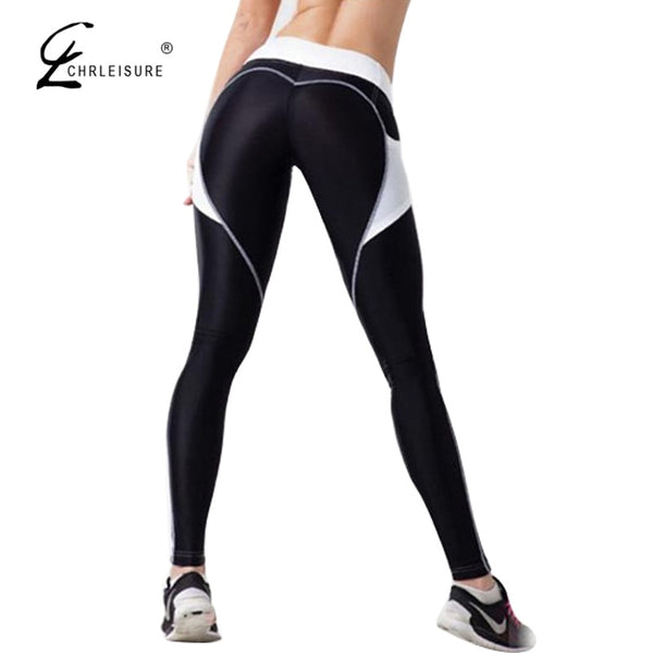 Fitness Heart Push Up Leggings - 3 Colors