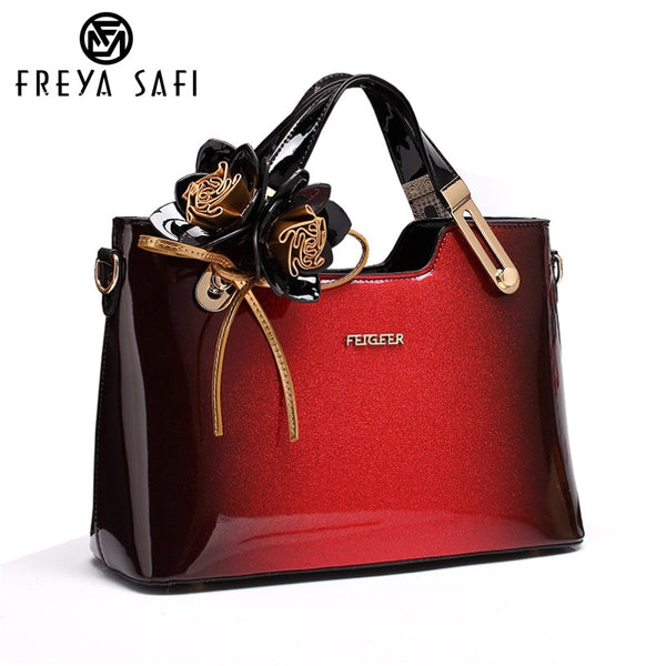 FREYA SAFI Luxury Designer Leather Tote Handbags