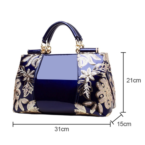 FREYA SAFI Luxury Embroidery Cross Body Tote Handbags - 5 Colors