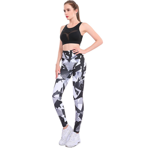 Push Up Digital Printed Leggings