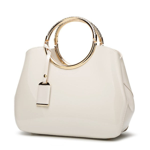 FREYA SAFI Designer Hoop Cross Body Handbags - 7 Colors