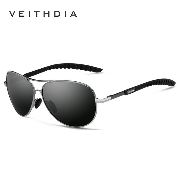 Designer Aviator Style Polarized Sunglasses