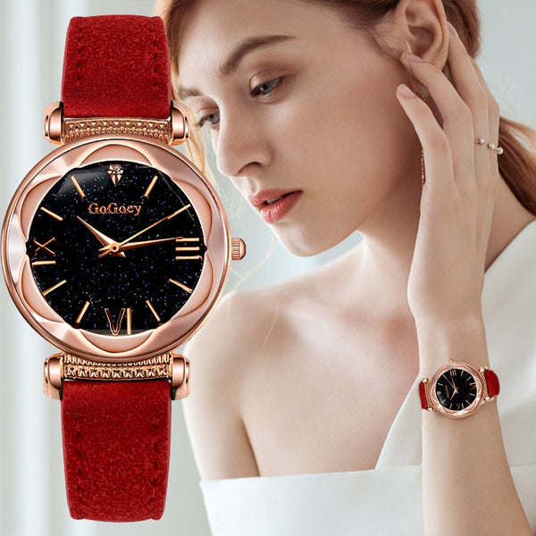 Luxury Starry Sky Quartz Watches Collection II - 7 Colors