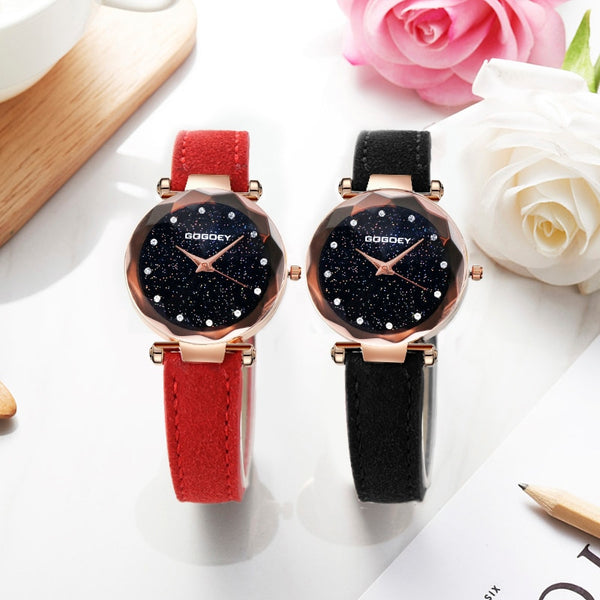 Luxury Starry Sky Quartz Watches Collection I - 6 Colors