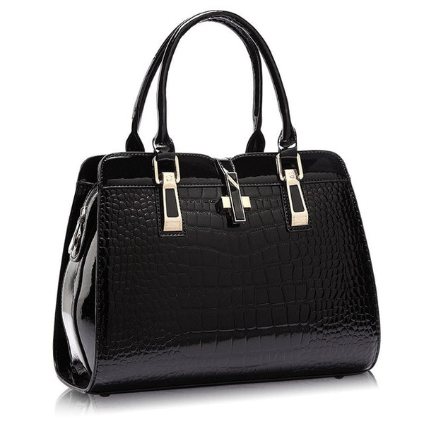 FREYA SAFI Luxury Fashion Crocodile Tote Bags - 6 Colors