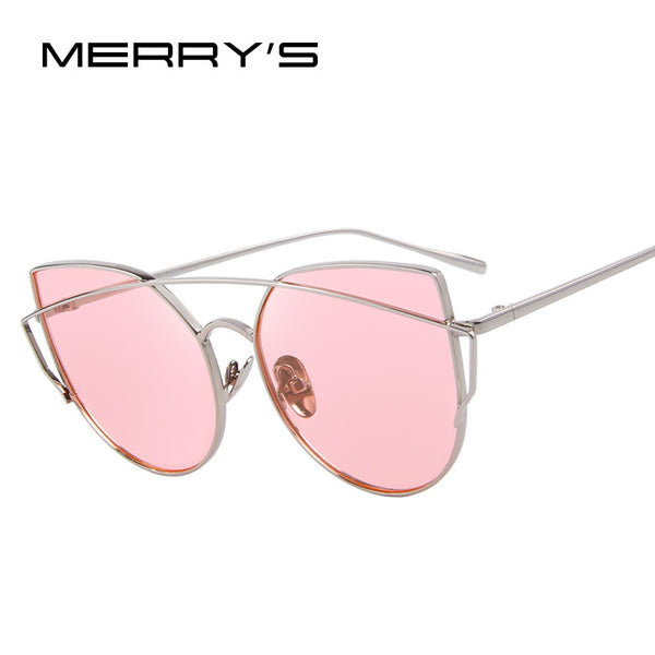 MERRY'S Women Cat-Eye Style Polarized Sunglasses