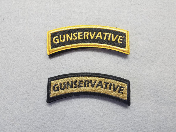 Gunservative Rocker Patch Set - RLH Design Group