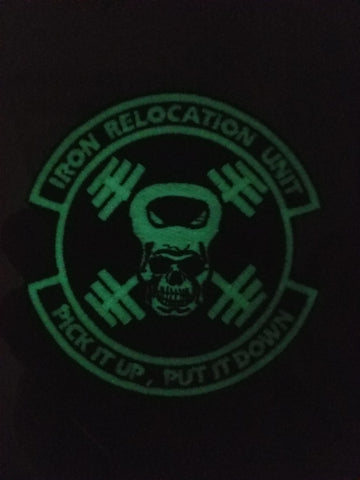 Iron Relocation Unit Patch - [product_type} - RLH Design Group