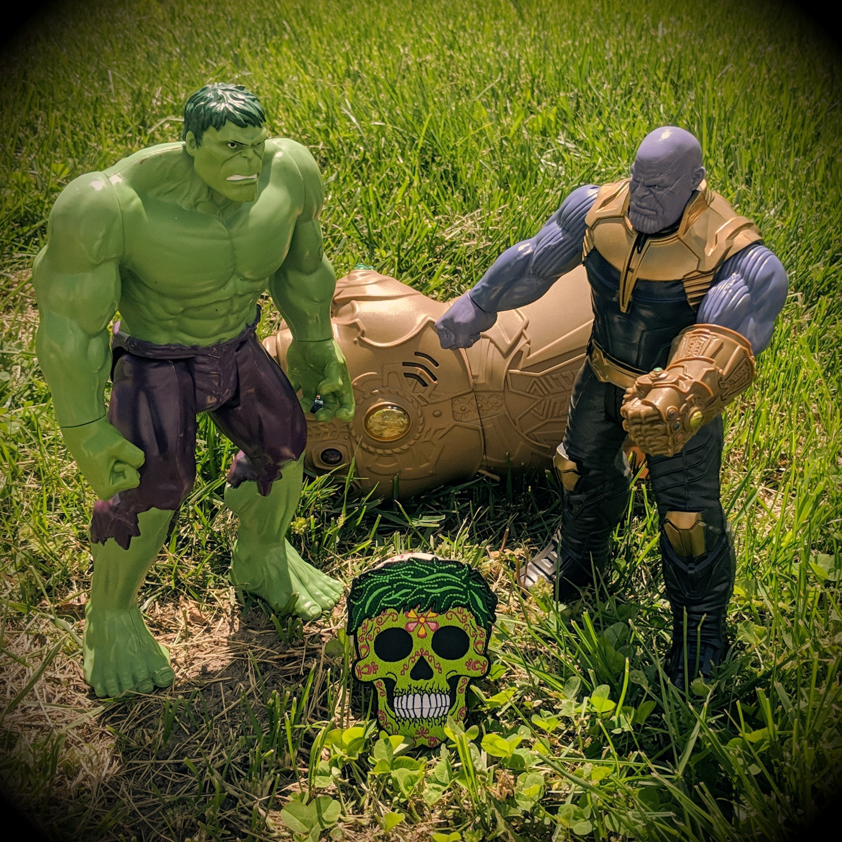 Hulk - Sugar Skull Avengers - [product_type} - RLH Design Group