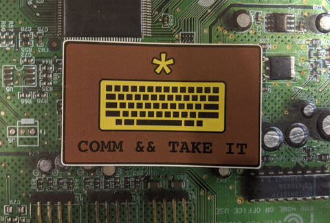 Sticker - Comm && Take It/Come and Take It - [product_type} - RLH Design Group