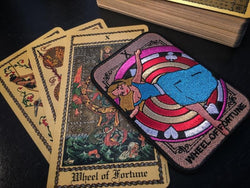 Alice - Wheel of Fortune - Tarot Card - RLH Design Group