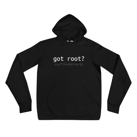 """got root?"" Hoodie - [product_type} - RLH Design Group"