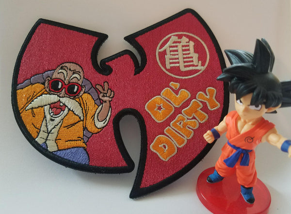 Ol' Dirty - Dragon Ball/Wutang Patch - RLH Design Group