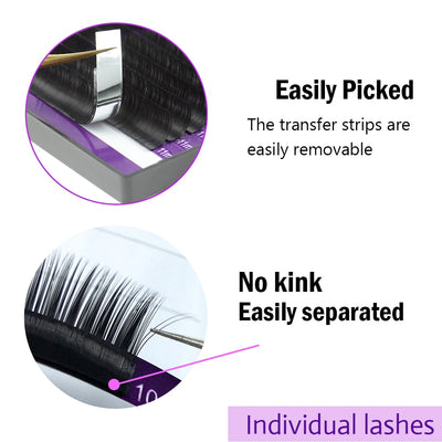 Soft Individual Eyelashes Extension