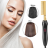 Hair Straightener Brush | 2 in 1 Hair Straightener Brush | Hair Straightener for Curling