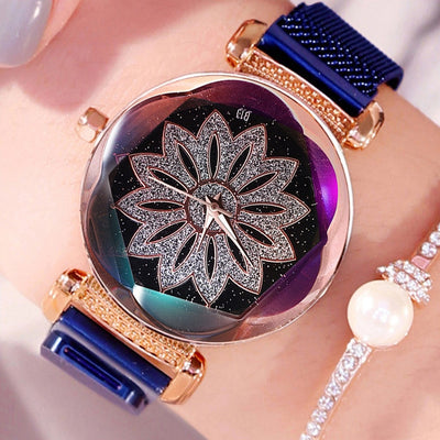 Floating Lotus Watch