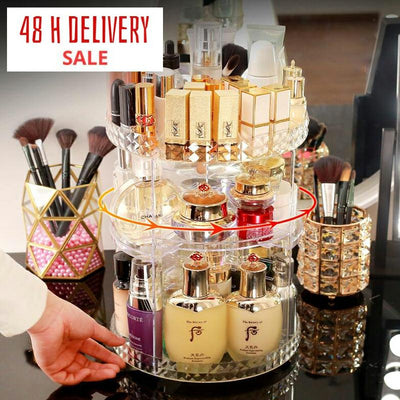 360 Degree Rotating Cosmetic Organizer