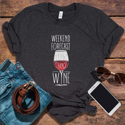 Weekend Wine Lover Tee