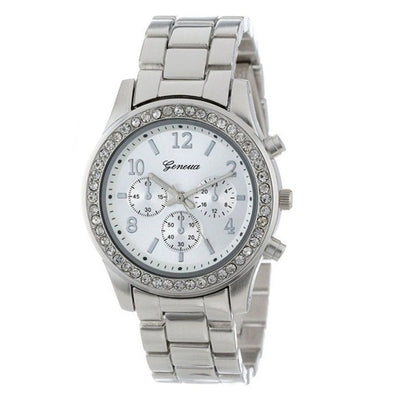 Stainless Steel Metal Boyfriend Watch