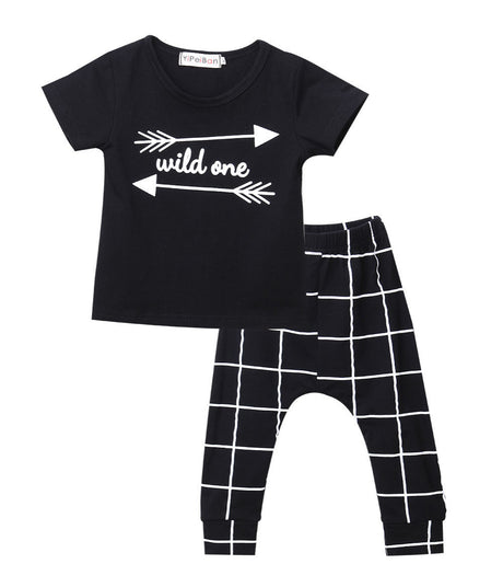 THE WILD Two Piece Pant Set - The Kids Line