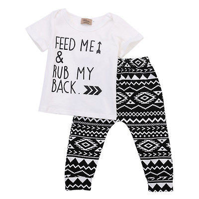 Feed Me and Rub My Back Two Piece - The Kids Line