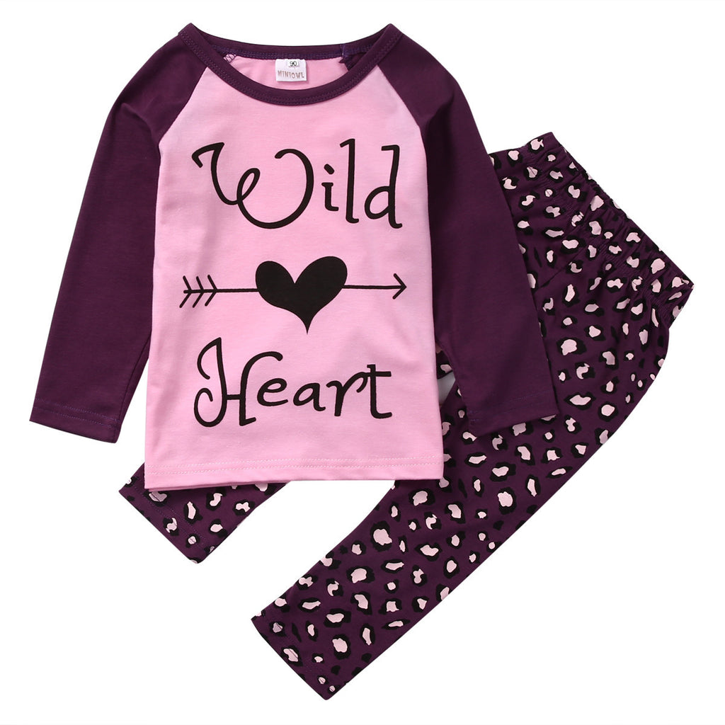 Wild Heart Two Piece Set - The Kids Line