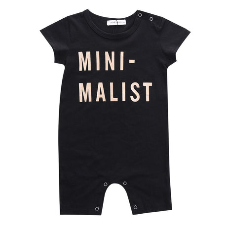 Newborn Baby Boy Girls Short Sleeve Romper Jumpsuit   Clothes Outfit 0-3Y - The Kids Line