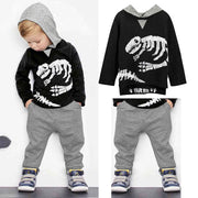 Dino Hoodie Two Piece Set