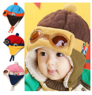 Little Flyer Pilot EarMuff Beanie