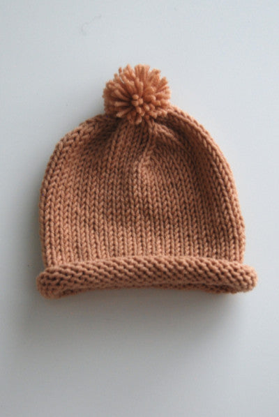 Baby Rolled Berlin Knit Hat