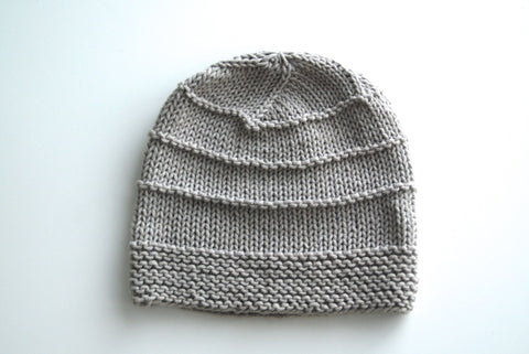 Lined Berlin Hand Knit Hat