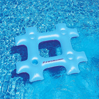 Inflatable Pool Toys Swimline Blue Hash Tag Pool Float - Grizzly Supply Co