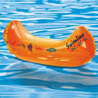 Inflatable Pool Toys Swimline Kiddie Canoe Inflatable Ride-on Swimming Pool Toy - Grizzly Supply Co