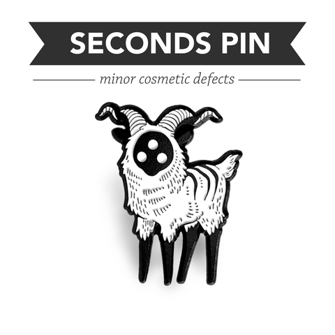 Bighorn Pin – Black – Seconds