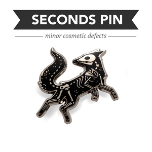Vulpes Pin – Silver – Seconds