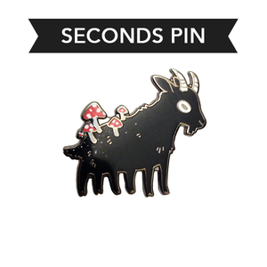 Capra Fungus Pin – Seconds CHARITY SALE