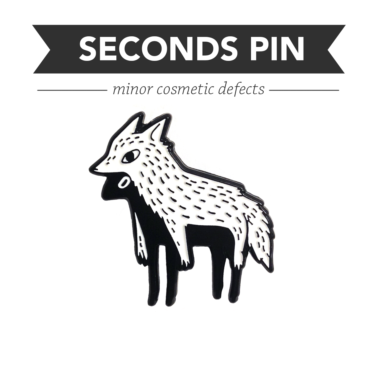Imposter Pin – Soft Enamel – Seconds CHARITY SALE