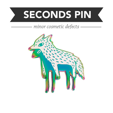 Imposter Pin – Rainbow – Seconds