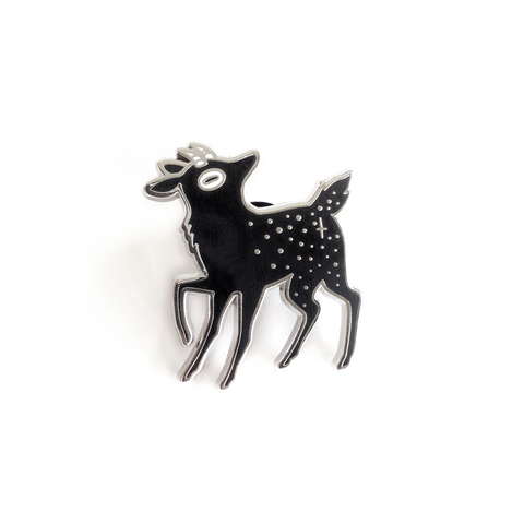 StarFaun Pin – Silver Nickel