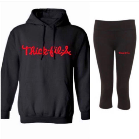 Thick Fil-a Winter Sweatshirt - Set