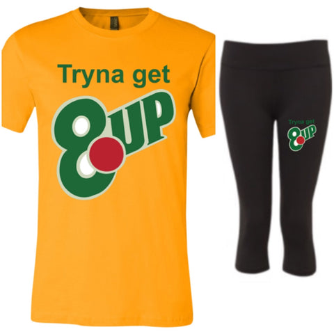 8 up Short-Sleeve Winter T-Shirt - Set