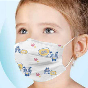 H&M Kids - 10 - 3 Layer kids facial mask-H&W Kids - 10 pack of 3 Layer facial mask-kusheclothing