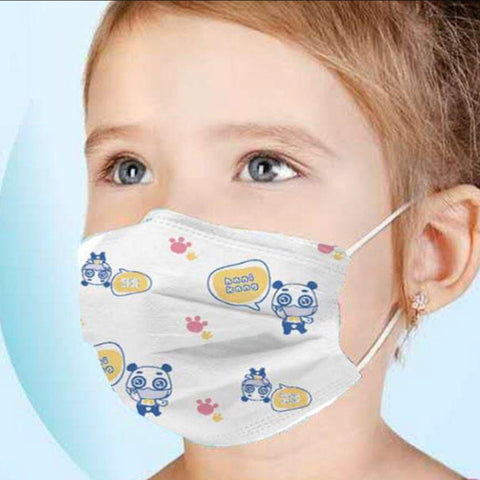 H&M Kids - 3 - 3 Layer kids facial mask-H&W 2 - 3 Layer facial mask-kusheclothing