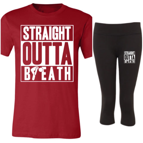 Outta breath Winter T-Shirt - Set-T-Shirts-kusheclothing