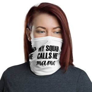 Squad Mama - Neck Gaiter, Face Mask and Neck Scarf-kusheclothing