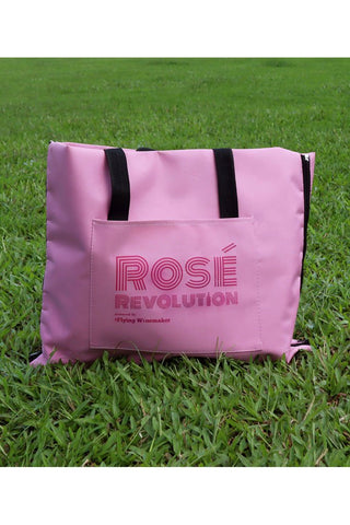 2-in-1 Rosé Picnic Bag/Blanket