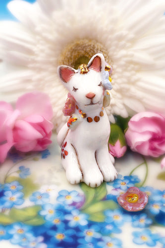 Porcelain Magical Princess Kitty