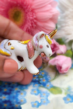 Porcelain Unicorn with Cupcake