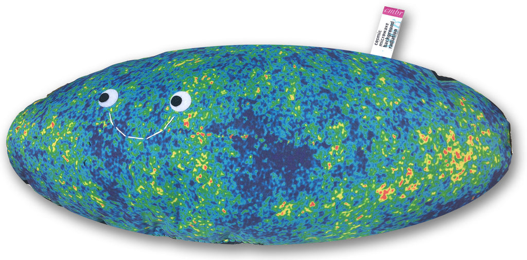 cosmic microwave background radiation pillow